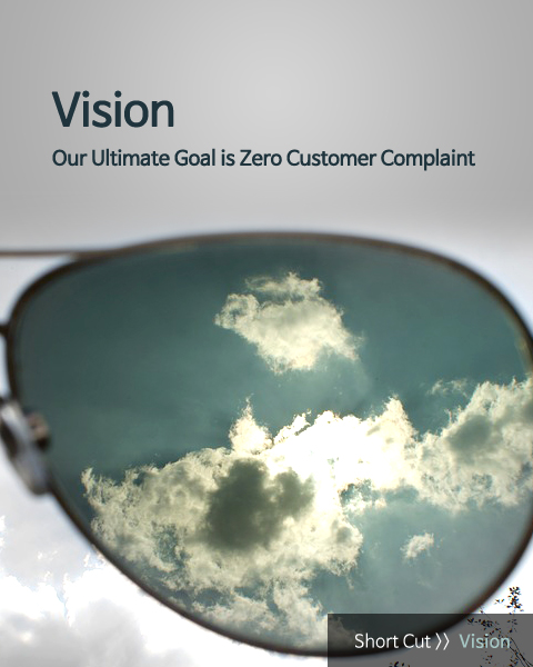 Our Ultimate Goal is Zero Customer Complaint